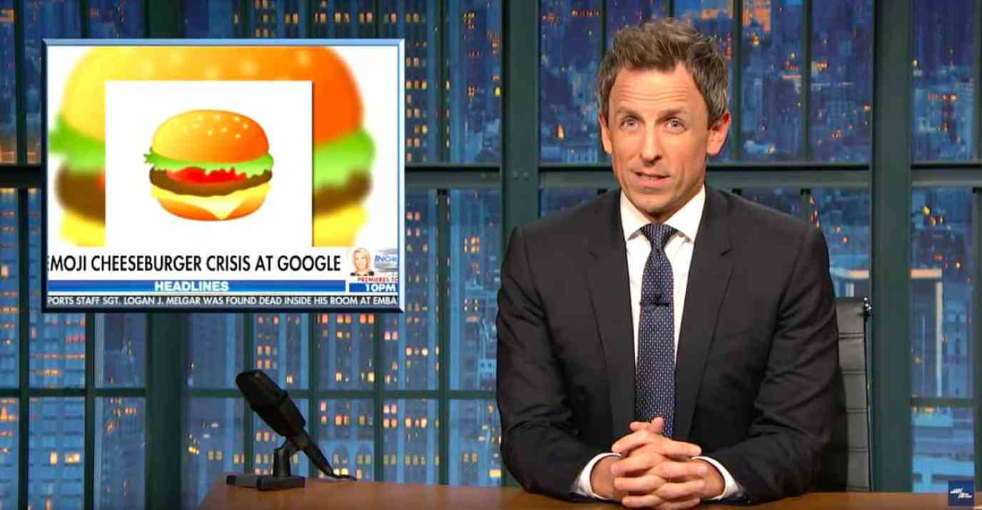 seth meyers indictments