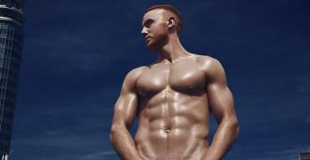 shirtless ginger