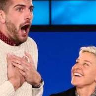 Ellen Gave a Very Tall Gay College Student the Surprise of His Life: WATCH