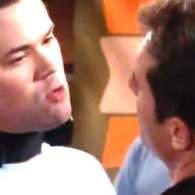 Will's Confrontation with a Gay Conversion Therapy Camp Counselor is Sealed with a Kiss on 'Will & Grace: WATCH