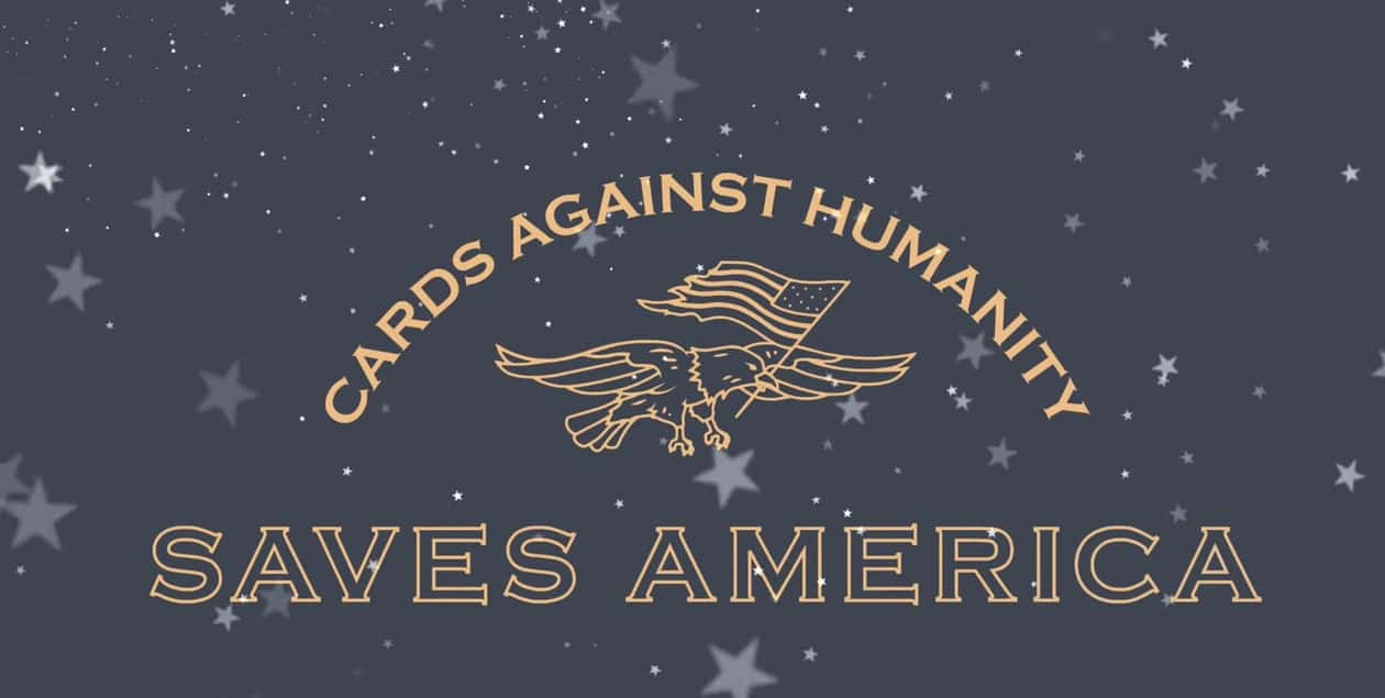 Cards Against Humanity holiday special may stop Trump's border wall