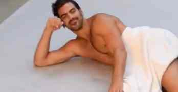 Nyle DiMarco snake