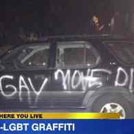 Man Has Asthma Attack After Car is Vandalized with 'Gay Move Die' – WATCH