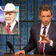 Seth Meyers Rips Trump Over Support for Roy Moore: 'Sexual Predators Flock Together' – WATCH