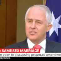 MAlcolm Turnbull marriage vote