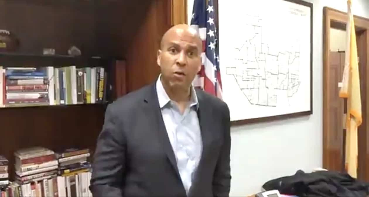Police beef up security after death threat to Cory Booker