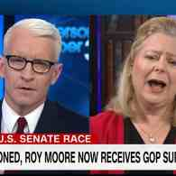 Anderson Cooper and Roy Moore Spox Janet Porter Go to the Mat Over Homosexuals, the 'Lynch Mob Media' – WATCH