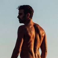 Nyle DiMarco Gets Naked in Nature
