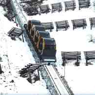 World's Steepest Funicular to Open on Sunday in Switzerland: WATCH