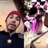 Lewis Hamilton Apologizes for  Video Attacking Nephew Over Pink Princess Dress