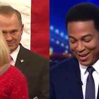 Watch: Don Lemon's Priceless Reaction to Kayla Moore's Remarks About Jews