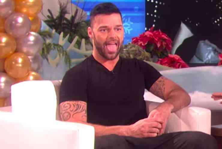Ricky Martin tush