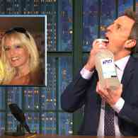 Seth Meyers is Chugging Purell After Hearing Stormy Daniels' Story of Her Sex Night with Trump: WATCH