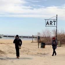 winter in provincetown ptown Michael Goff