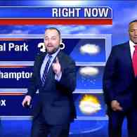 NYC Council Speaker Corey Johnson Dances Into Weather Forecast with Lady Gaga: WATCH
