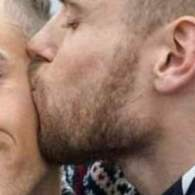 Gus Kenworthy Gives Adam Rippon Kiss at Opening Ceremony: 'We're Here. We're Queer'
