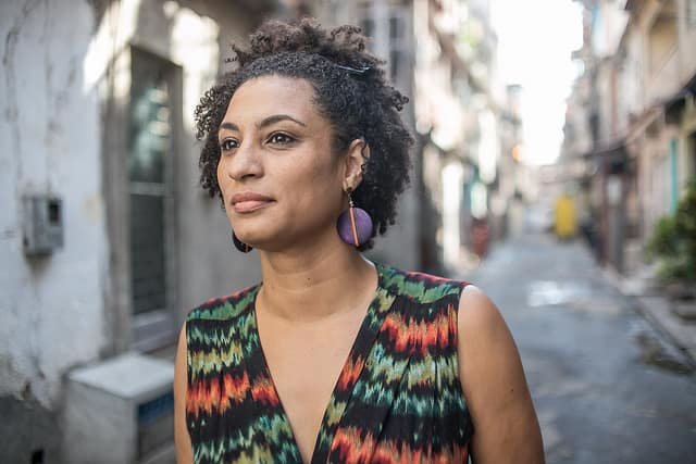 Brazil Rocked After Lgbt City Councillor Marielle Franco -5960