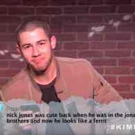 Nick Jonas Responds to Claims He Looks Like a 'Ferrit' in New Jimmy Kimmel's Mean Tweets: WATCH