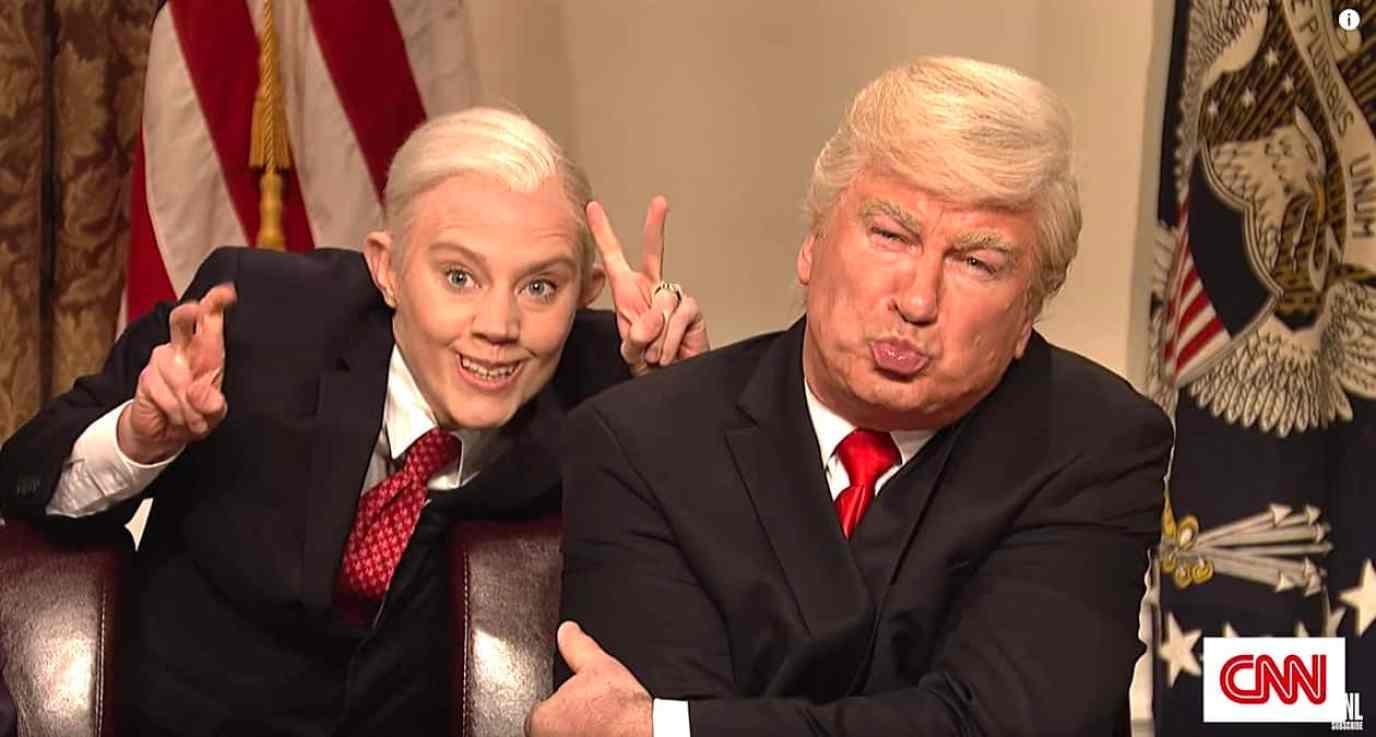 Kate McKinnon Alec Baldwin Trump