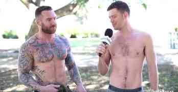 shirtless military