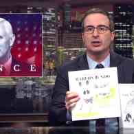John Oliver Rips Anti-LGBT Mike Pence with Book About His Gay Bunny, Marlon Bundo: WATCH