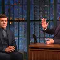 Seth Meyers Gets to Know Nick Robinson, the Star of the Gay-Themed 'Love, Simon' – WATCH