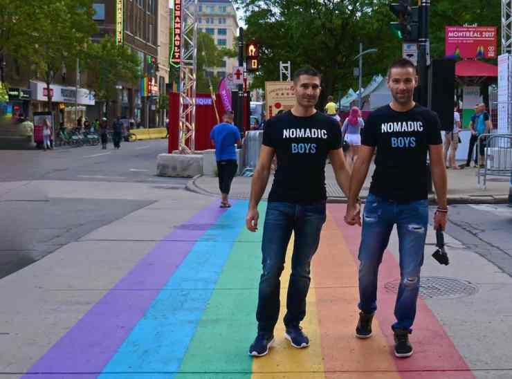 gay Montreal nomadic boys
