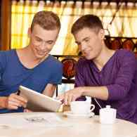 This Survey Is Important Even if These Gay Stock Photos are Dumb