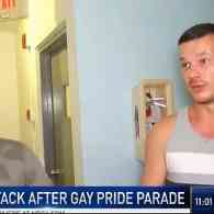 Gay Couple Attacked by 4 Men After Miami Beach Gay Pride: VIDEO
