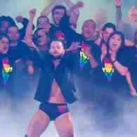WWE's Finn Balor Makes Big Gay WrestleMania Entrance in Massive Show of LGBTQ Support: WATCH