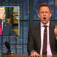 Seth Meyers' Plan for the Mexican Border is Wacky Enough for Trump to Actually Approve: WATCH