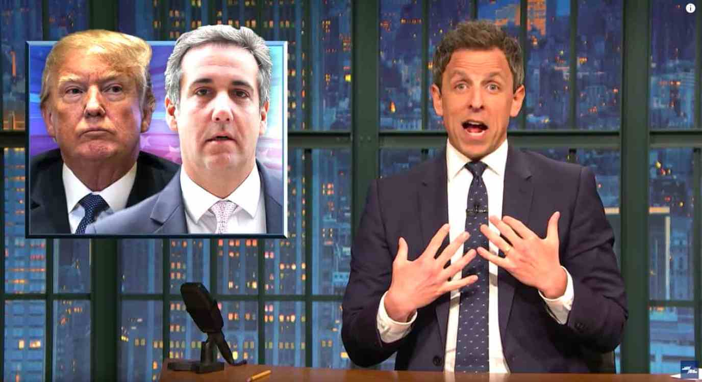 michael cohen seth meyers
