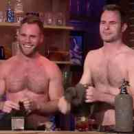 Matt and Dan Stripped Down for Andy Cohen (and Attention) on 'Watch What Happens Live!'