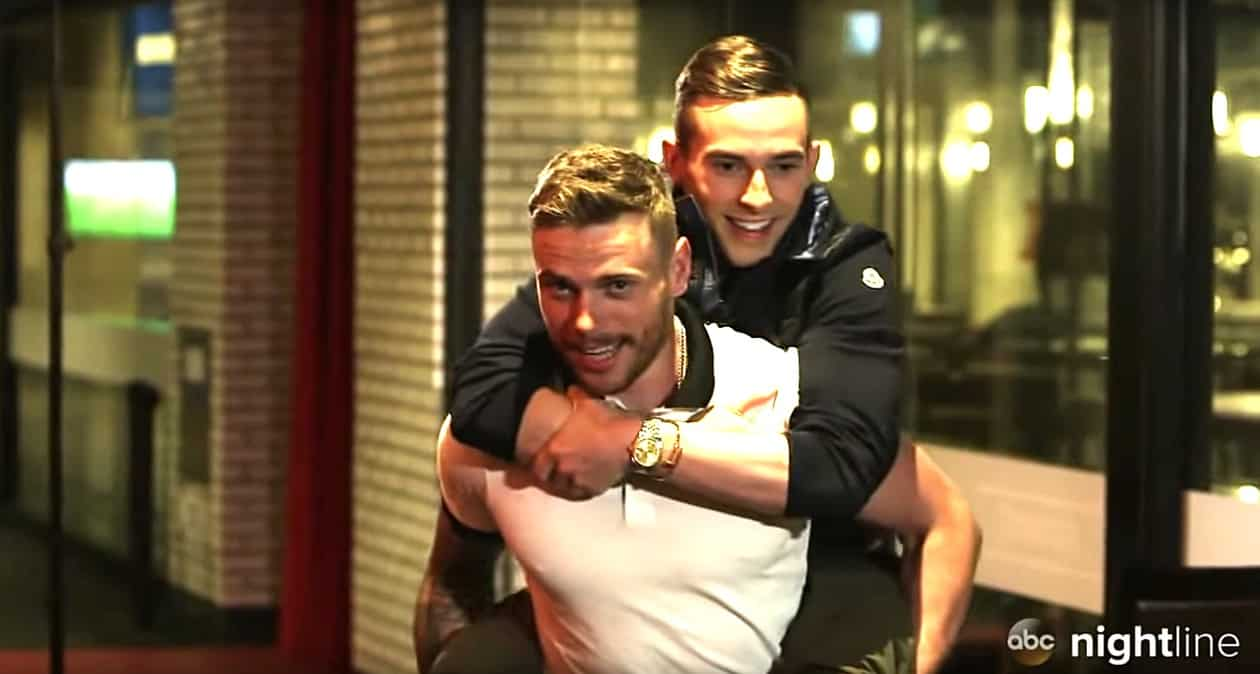 Gus Kenworthy Interviewed BFF Adam Rippon For Nightline And Got A Major Scoop WATCH