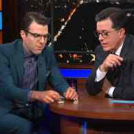 Zachary Quinto Demonstrates Tennessee Williams' Cocaine Dish for Stephen Colbert: WATCH