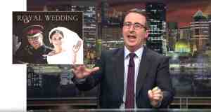 John Oliver royal wedding