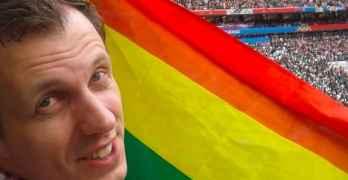 alexander agapov rainbow flag world cup