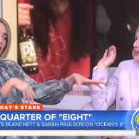 Sarah Paulson and Cate Blanchett Make Hoda Kotb's Mascara Run in Hilarious TODAY Interview: WATCH