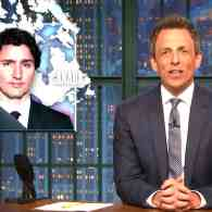 Seth Meyers on Trump's Justin Trudeau Feud: 'How Do You Get in a Fight with Canada?' – WATCH