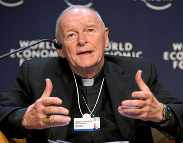 Pope accepts cardinal's resignation following sex abuse scandal