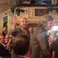 Hillary Clinton Gets Standing Ovation at Broadway's 'Hello, Dolly!' – WATCH