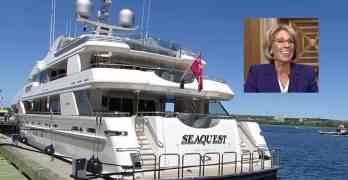 betsy devos seaquest yacht