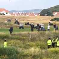 Trump Heckled While Golfing in Scotland: 'No Trump, No KKK, No Racist USA' – WATCH