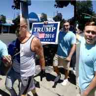 Cal Poly Revokes Scholarship from Wrestler Filmed at Pro-Trump Rally Shouting Anti-Gay Slur: WATCH