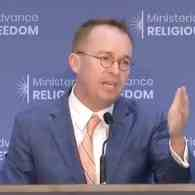 Mick Mulvaney: Trump Administration Will Stop Punishing African Countries That Discriminate Against LGBTQ People – WATCH