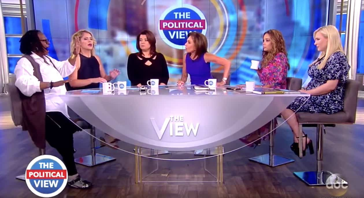 Whoopi Goldberg Explodes at Jeanine Pirro Backstage at 'The View'