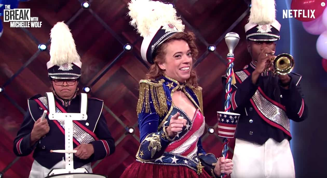 Michelle Wolf Delivers a Spectacular Patriotic Salute to Abortions on The Break