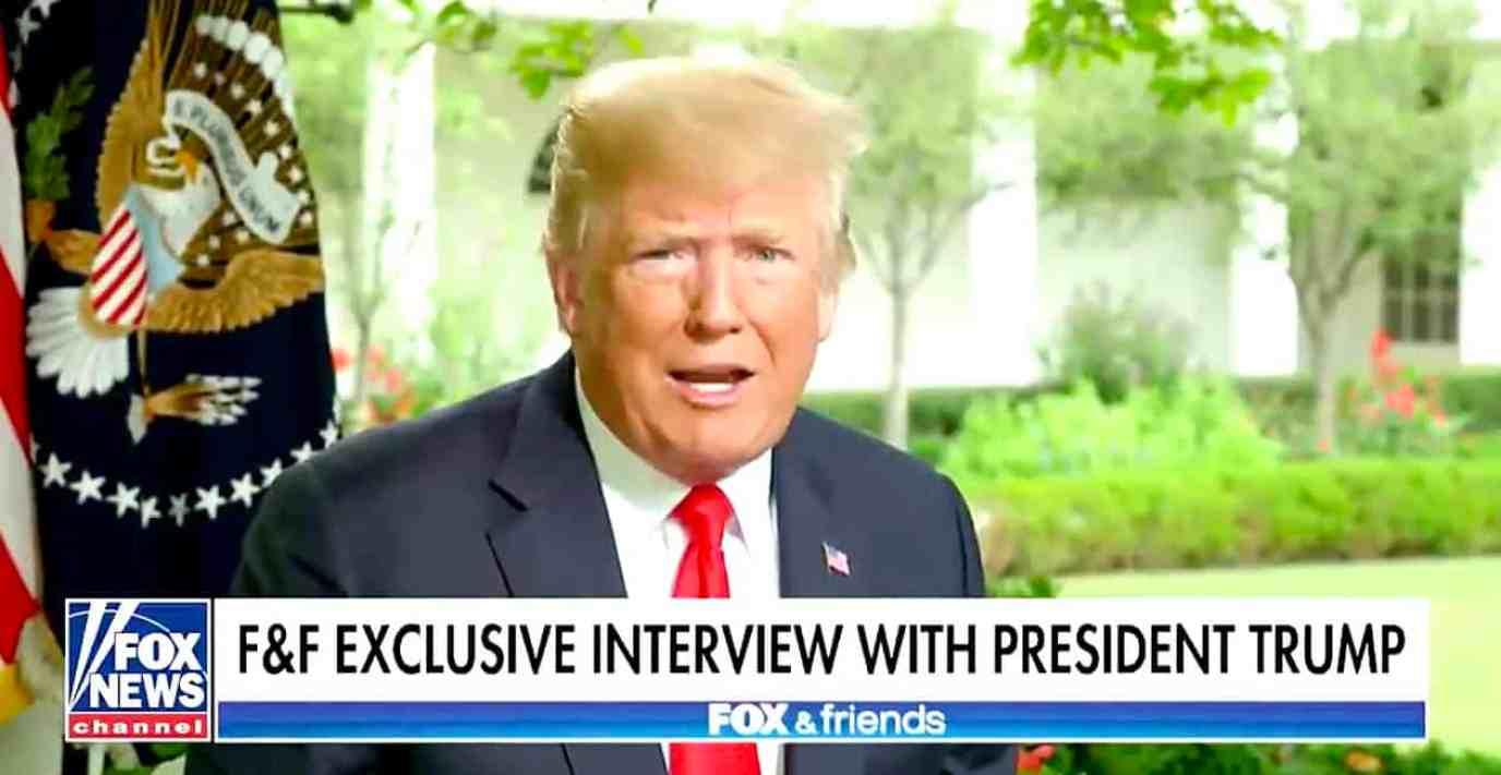 Trump Fox Friends