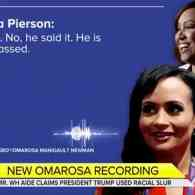 Omarosa Releases Tape in Which Trump Staffers Admit He Used N-Word: 'He Said It' — WATCH