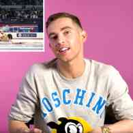 Adam Rippon Offers Hilarious Analysis on Figure Skating Films 'The Cutting Edge', 'I, Tonya', and 'Blades of Glory' – WATCH